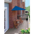 TERRACE MATES® BISTRO Deluxe 7.Outdoor 5 Ft. Blue Olefin Outdoor 5 Pc. Set
