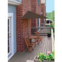 TERRACE MATES® CALEO Deluxe 7.Outdoor 5 Ft. Chocolate Olefin Outdoor 5 Pc. Set