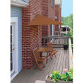 TERRACE MATES® VILLA Deluxe 7.Outdoor 5 Ft. Teak Sunbrella Outdoor 5 Pc. Set
