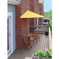 TERRACE MATES® VILLA Deluxe 7.Outdoor 5 Ft. Yellow Sunbrella Outdoor 5 Pc. Set