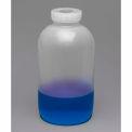 Bel-Art Mason Jars 109160000, Polypropylene, 4 Liters (1 Gallon), Clear, Wide Mouth, 2/PK