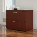 """Bush Furniture 36""""W 2 Drawer Lateral File Cabinet - Harvest Cherry - 400 Series"""