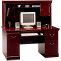 Birmingham Collection Desk & Hutch Harvest Cherry