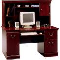 Birmingham Collection Desk & Hutch Harvest Cherry