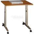 Series C Warm Oak Mobile Table