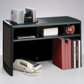 "30"" Metal Desk Space Saver - Black"