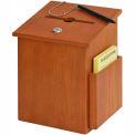 Wood Collection Box - Medium Oak