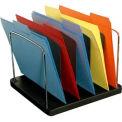 5 Pocket Vertical Desk Tray - Black