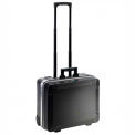 "B&W Profi Run Rolling Tool Case With Pocket Boards 19-3/4""L x 16-1/4""W x 10-1/2""H, Black"