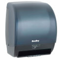Bradley Automatic Sensor Activated Roll Towel Dispenser, Surface Mount Gray - 2494-000000