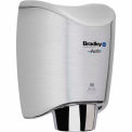Bradley Aerix+ Automatic Sensor Hand Dryer, Surface Mount Satin Stainless Steel - 2922-287400