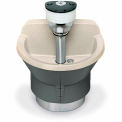 Bradley S93-570 Bradstone 3 Person Classic Washfountain W/ Foot Bar