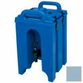 Cambro 100LCD401 - Camtainer Beverage Carrier,  1-1/2 Gallon, Insulated, Slate Blue