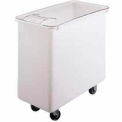 Ingredient Bin, Mobile, 34 Gallon Capacity, White
