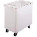 Ingredient Bin, Mobile, 42.5 Gallon Capacity, White