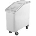 Ingredient Bin, Mobile, 21 Gallon Capacity, White
