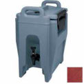 Ultra Camtainer® Beverage Carrier, Insulated Plastic, 2-3/4 Gallon Capacity, Brick Red