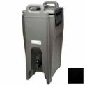 Cambro UC500110 - Ultra Camtainer Beverage Carrier, Insulated Plastic, 5-1/4 Gallon, Black