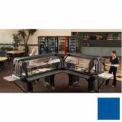 "Cambro VBRTHD6186 - Versa Food Bars™Work Table, Cold Food, 72"" x 36"" (Standard), Navy Blue"