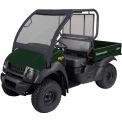 Classic Accessories UTV Front Windshield, Kawasaki Mule 4000, Black - 18-093-010401-00
