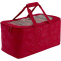 Seasons Debossed Fabric Holiday Lights Storage Duffel