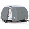 Overdrive Polypro 3 Teardrop Trailer Cover, 15'