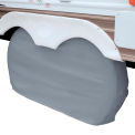 Classic Accessories OverDrive Dual Axle Wheel RV Cover, Gray, X-Large - 80-210-051001-00