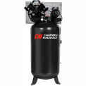 Campbell Hausfeld 1-Stage Electric Air Compressor CE4104, 230V, 5HP, 1PH, 80 Gal