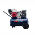 Campbell Hausfeld® VT6171, 5.5 HP, Portable Gas Comp, 20 Gal, 135 PSI, 8.5 CFM, Honda, Electric