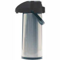 2.2-Liter Airpot w/ Lever Pump, Chrome/Black, AP75R