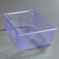 "Carlisle 10622C14 - Storplus™ 12.5 Gallon Box 26"", 18"", 9"", Rimglow Blue - Pkg Qty 4"
