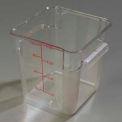 Carlisle 1072307 - Storplus™ Container 8 Qt., Clear - Pkg Qty 6