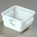Carlisle 1073002 - Storplus™ Container 2 Qt., White - Pkg Qty 6
