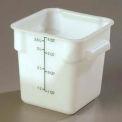 Carlisle 1073102 - Storplus™ Container 4 Qt., White - Pkg Qty 6