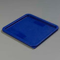 "Carlisle 1074260 - Storplus™ 12-18-22 Qt. Lid 11-3/8"", 11-3/8"", 5/8"", Blue - Pkg Qty 6"