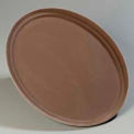 "Oval Tray 24"", 19-1/4"", 1-3/16"" - Toffee Tan"