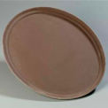 "Griptite™ Oval Tray 27-1/16"", 22-5/16"", 1-5/32"" - Toffee Tan"