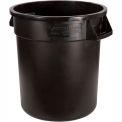 Bronco™ Round Waste Container 20 Gallon - Black 34102003 - Pkg Qty 6