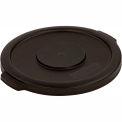 Bronco™ Round Waste Container Lid 44 Gallon - Black 34104503 - Pkg Qty 3