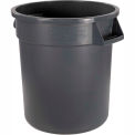 Carlisle Bronco Waste Container 55 Gallon, Gray 34105523