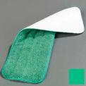 "Microfiber Wet Mop Pad 18"" - Green - Pkg Qty 12"
