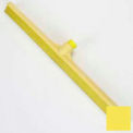 "Spectrum® Color-Coded One-Piece Rubber Floor Squeegee 24"" - Yellow"