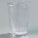 Crystalon® Stack-All® San Tumbler 8.3 Oz. - Clear, Ribbed Texture - Pkg Qty 48