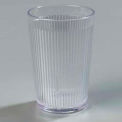 Crystalon® Stack-All® San Tumbler 9.5 Oz. - Clear, Ribbed Texture - Pkg Qty 48