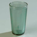 Crystalon® Stack-All® SAN Tumbler 12 Oz. - Jade, Ribbed Texture