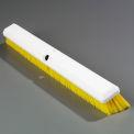 "Spectrum® Omni Sweep® 24"" Push Broom w/ 60"" Fiberglass Handle, Yellow - 41891KIT04"