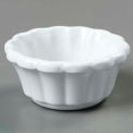 Scalloped Ramekin 3 Oz. - White