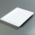 "Designer Displayware™ Wide Rim Rectangle Platter 17"" X 13"" - White"