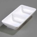 "Double Square Ramekin 4 Oz., 5-3/4"" x 2-3/4"" - White"