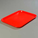 "Cafe® Standard Tray 10"" x 14"" - Red"